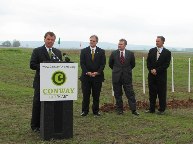 Airport Groundbreaking - Conway, Arkansas